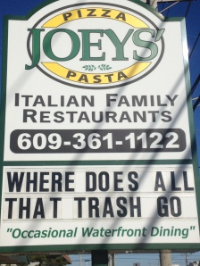 JOEY'S is just wondering...